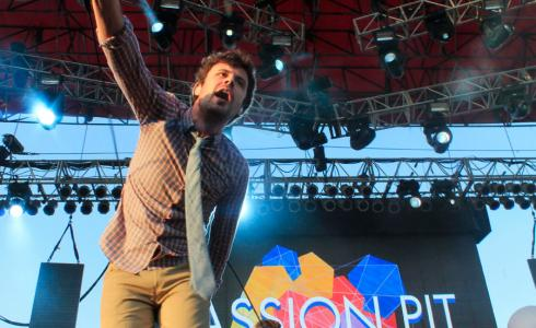 Passion Pit at 2013 Free Press Summer Fest in Houston