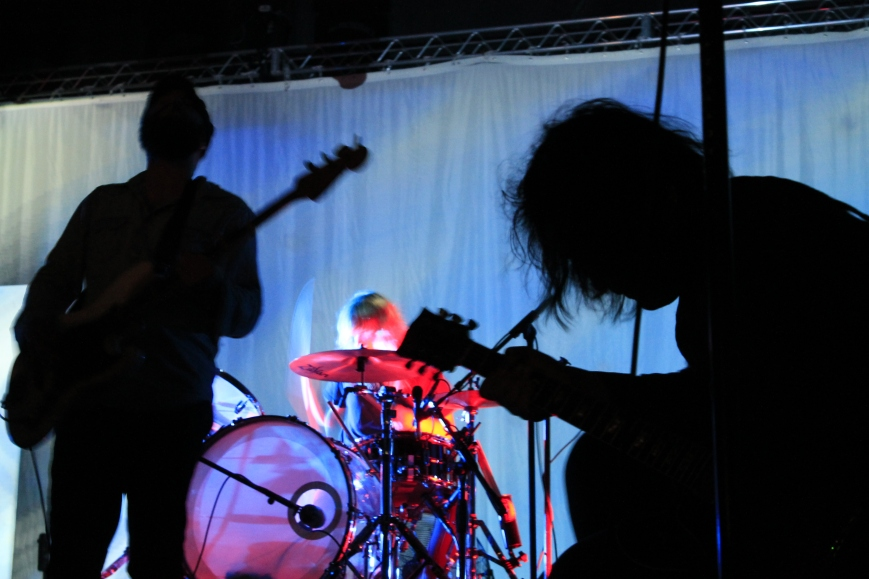 The Black Angels on Sunday, April 28 on the Reverberation Stage.