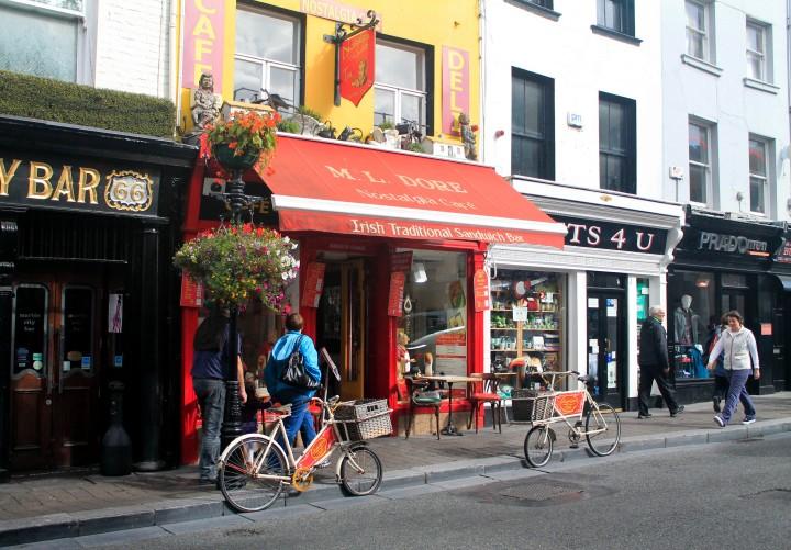A sandwich shop in Kilkenny.