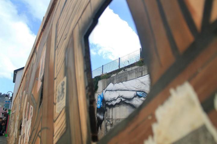 Street art in Kilkenny.