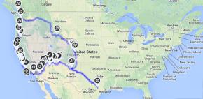 6399 miles. 12 states. 3 girls. 2 countries. 1car.