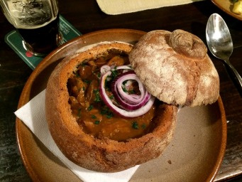 Goulash is a traditional Czech stew, and perfect for a winter evening.