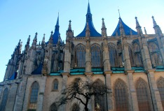 St. Barbara's Church is a gothic wonder in Kutna Hora.