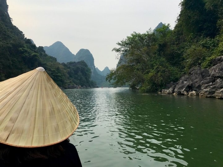 The waterways of Ninh Binh are just a few hours north of Hanoi.