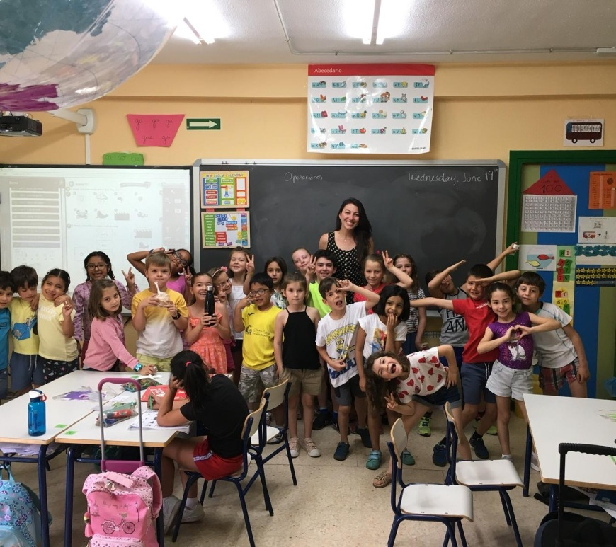 teaching english abroad spain
